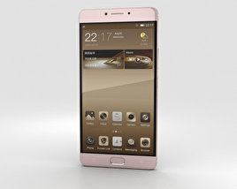 3D model of Gionee M6 Mocha Gold