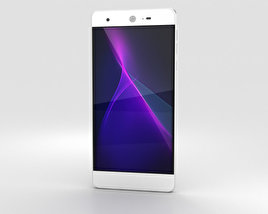 Sharp Aquos Z2 Silver 3D model