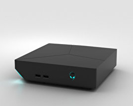 3D model of Dell Alienware Steam Machine