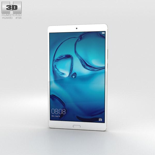 Huawei MediaPad M3 8.4-inch Gold 3D model