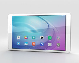 3D model of Huawei MediaPad T2 10.0 Pro Pearl White