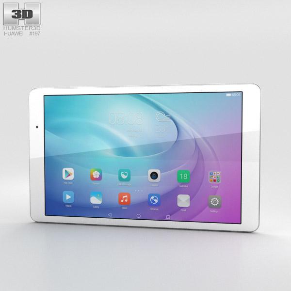 Huawei MediaPad T2 10.0 Pro Pearl White 3D model