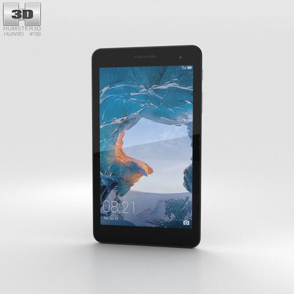 Huawei MediaPad T2 7.0 Silver 3D model