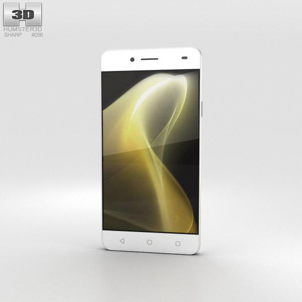Sharp C1 White 3D model
