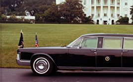 3D model of Ford Lincoln Continental President limousine 1972