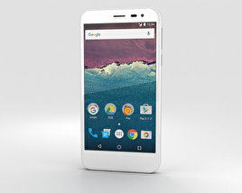 3D model of Sharp Aquos 507SH White