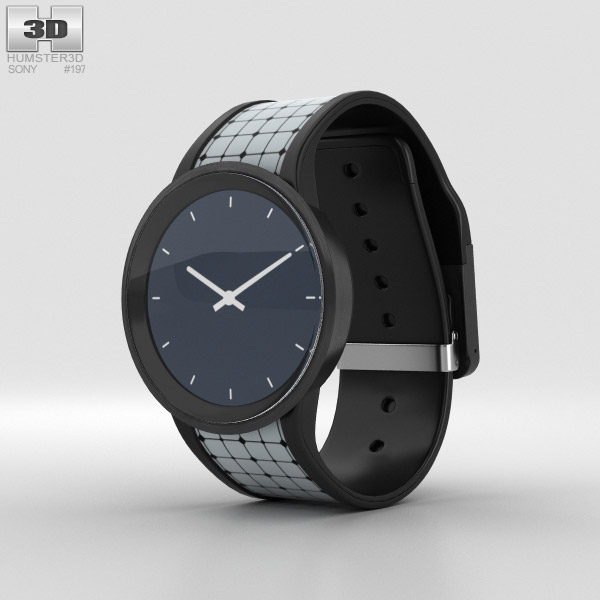 Sony FES Watch U 3D model