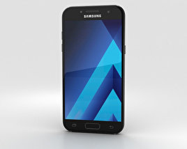 Samsung Galaxy A7 (2017) Black Sky 3D model