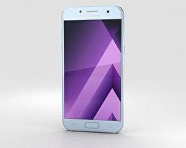 Samsung Galaxy A7 (2017) Blue Mist 3D model