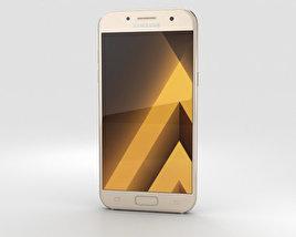 Samsung Galaxy A7 (2017) Gold Sand 3D model