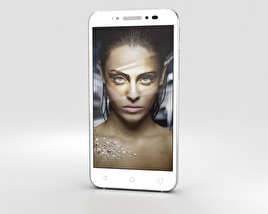 Alcatel Shine Lite Pure White 3D model