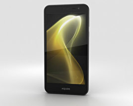 Sharp Aquos U SHV35 Black 3D model