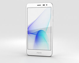3D model of Sharp Aquos U SHV35 White