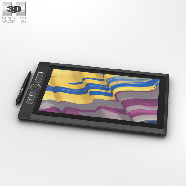 3D model of Wacom MobileStudio Pro 13 inch