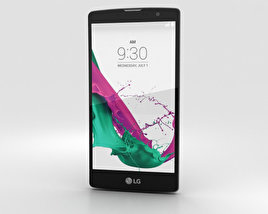 3D model of LG G4c Metallic Gray