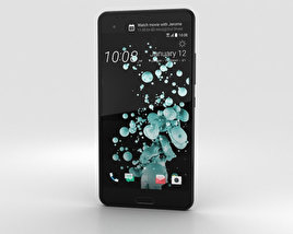 3D model of HTC U Ultra Brilliant Black