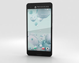 3D model of HTC U Ultra Ice White