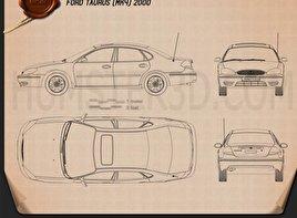 Ford Taurus 2000 Blueprint