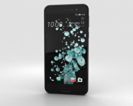 3D model of HTC U Play Brilliant Black