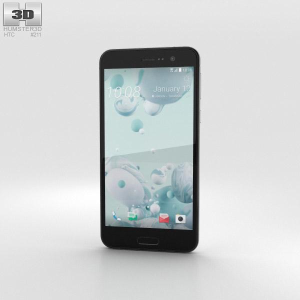 3D model of HTC U Play Ice White