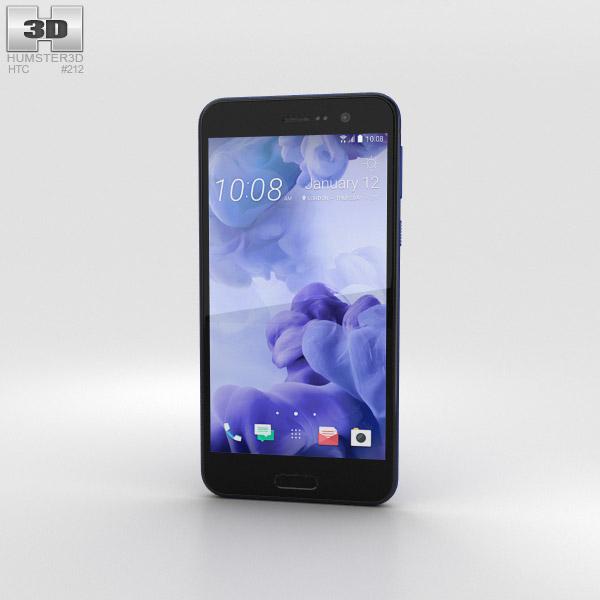 3D model of HTC U Play Sapphire Blue