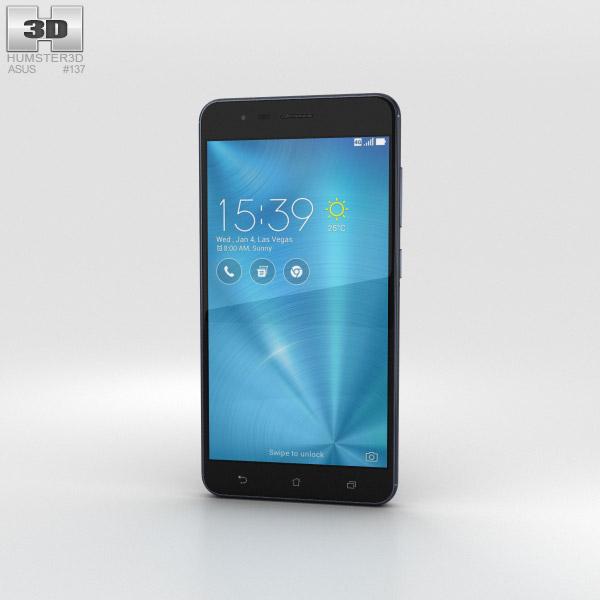 Asus Zenfone 3 Zoom Navy Black 3D model