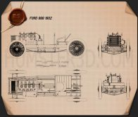 Ford 999 1902 Blueprint