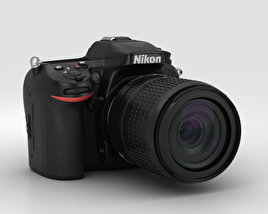 3D model of Nikon D7100