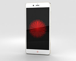 3D model of ZTE Nubia Z11 mini S Gold