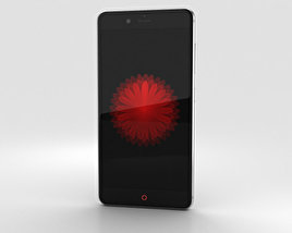 3D model of ZTE Nubia Z11 mini S Gray