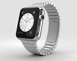 3D model of Apple Watch Series 2 38mm Stainless Steel Case Link Bracelet