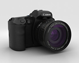 3D model of Canon EOS D30