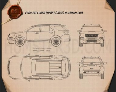 Ford Explorer (U502) Platinum 2015 Blueprint