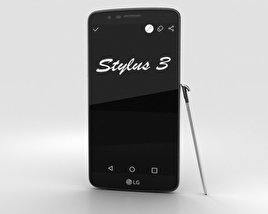 3D model of LG Stylus 3 Titan