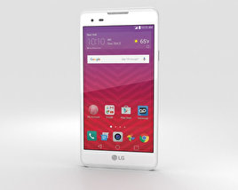 3D model of LG Tribute HD White