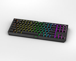 3D model of Razer BlackWidow Tournament Edition Chroma