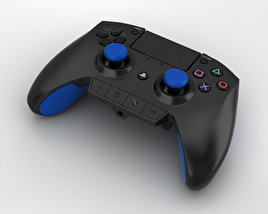 3D model of Razer Raiju Gaming Controller