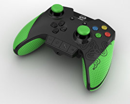 3D model of Razer Wildcat Gaming Controller for Xbox One