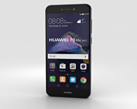 3D model of Huawei P8 Lite (2017) Black