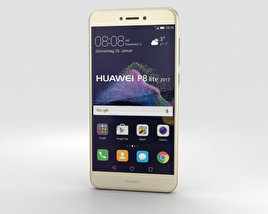 3D model of Huawei P8 Lite (2017) Gold