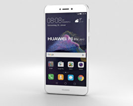 3D model of Huawei P8 Lite (2017) White