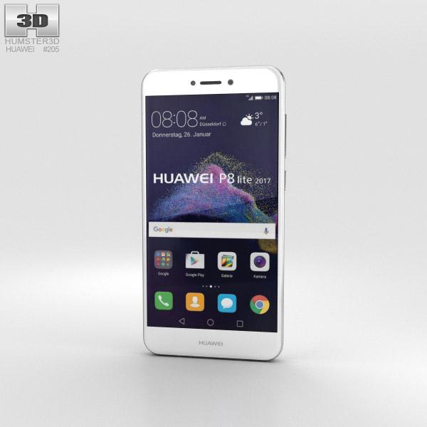 Huawei P8 Lite (2017) White 3D model