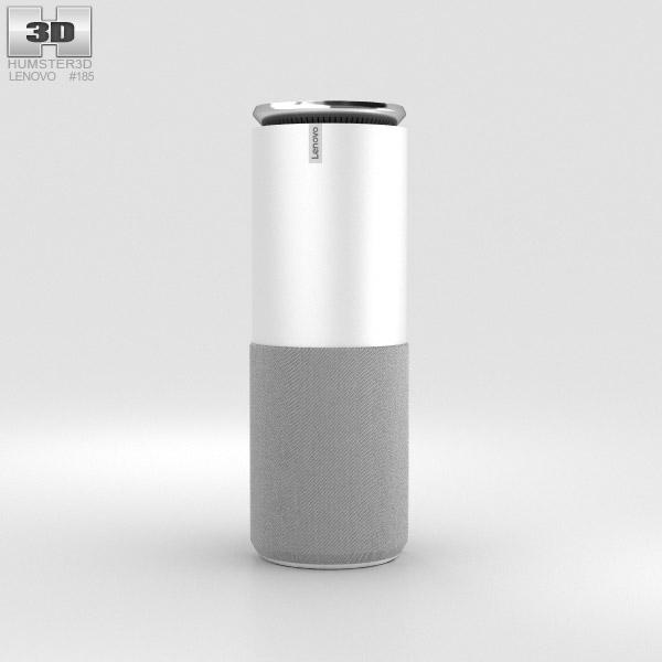 Lenovo Smart Assistant Light Gray 3D model