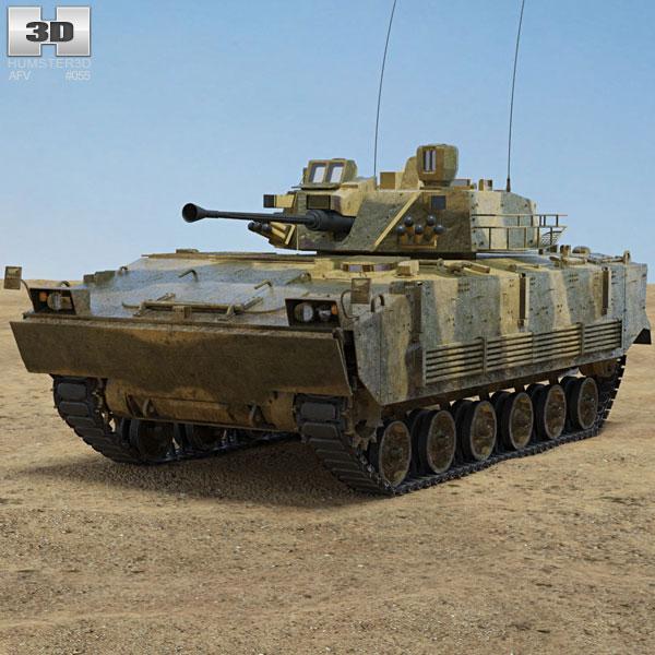 K21 KNIFV Infantry Fighting Vehicle 3D model