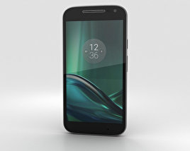 3D model of Motorola Moto G4 Play Black