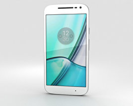 3D model of Motorola Moto G4 Play White