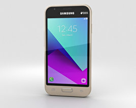 3D model of Samsung Galaxy J1 Mini Prime Gold