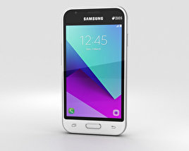 3D model of Samsung Galaxy J1 Mini Prime White