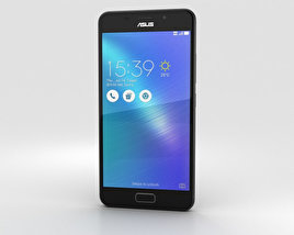 3D model of Asus Zenfone 3s Max Black