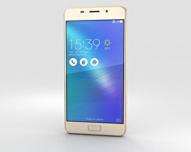 3D model of Asus Zenfone 3s Max Gold